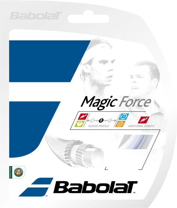 Cordage tennis - BABOLAT - Magic force j 135 blanc