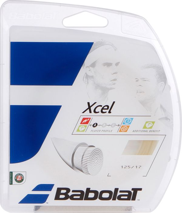 Cordage tennis - BABOLAT - Xcel j 135 naturel