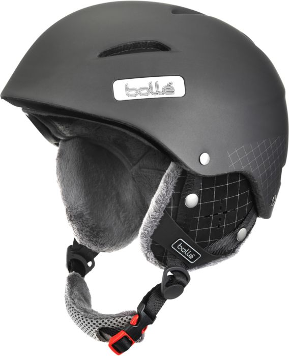 Image of Casque - BOLLE - B-star soft grey diagonal - Indetermine Adulte 54/58 CM