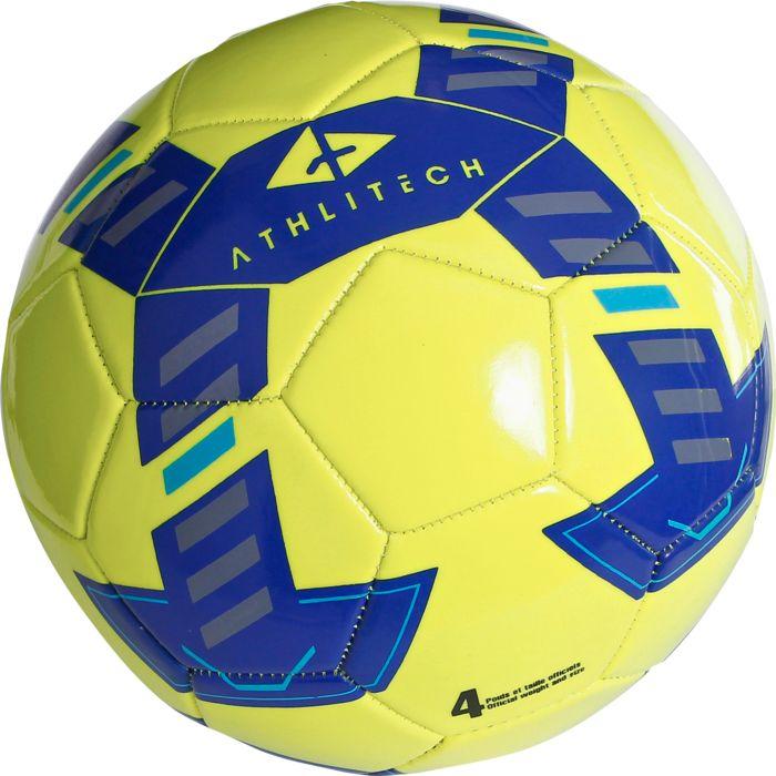 ATHLI FOOT BALL JAUNE