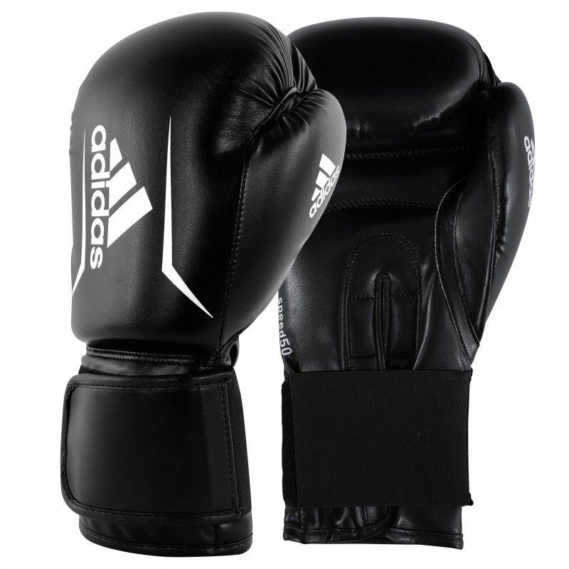 Gants De Boxe - ADIDAS - Speed 50 Gants - Noir Mixte 14 OZ