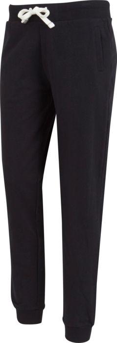 Pantalon - SOFTWR - Uni regular - Noir Femme M