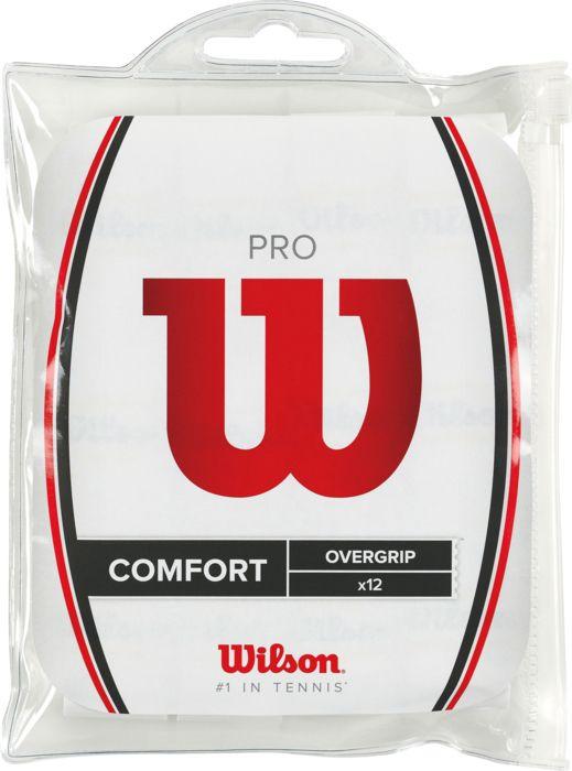 Grip - WILSON - Pro overgrip 12pk wh
