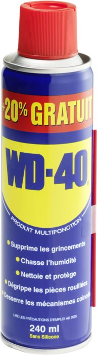 WD-40 200ML+20% - mixte - WD-40