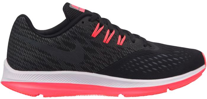 new styles 53dfe 1fc0c ZOOM WINFLO 4 - NOIR - femme - NIKE - CHAUSSURES BASSES