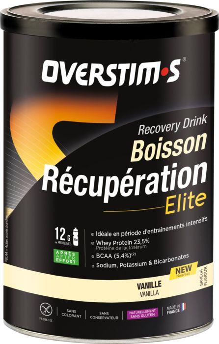 Sport - OVERSTIMS - Boisson recup elite vanille