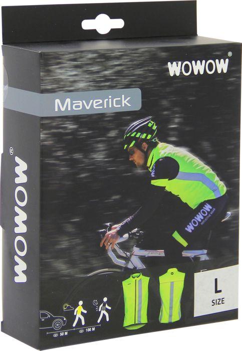 Gilet de securite - WOWOW - Maverick jkt - Jaune fluo Homme XL