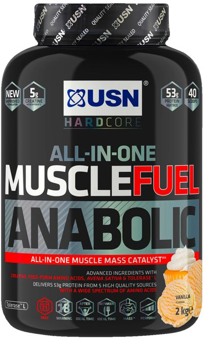 MUSCLE FUEL ANABOLIC VAN 2 KG - USN NUTRITION