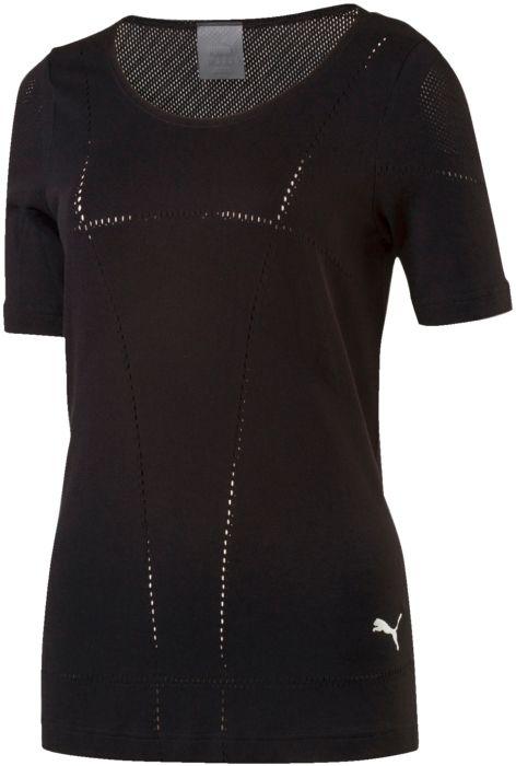 Tee shirt femme - PUMA - Evoknit tee - Noir Femme M