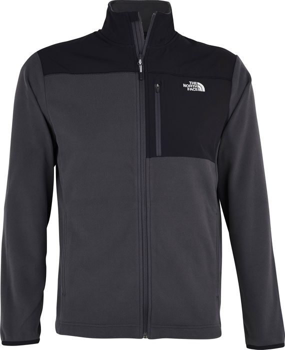 PARAMONT DELTA FZ - GRIS ANTHRACITE - homme - THE NORTH FACE - VESTE POLAIRE