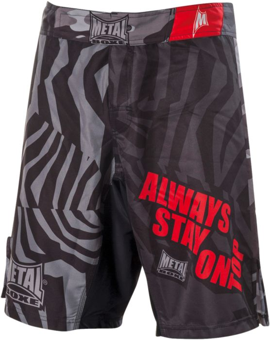 SHORT MULTIFIGHT OLDBOX - INDETERMINE - homme - METAL BOXE - short multifight