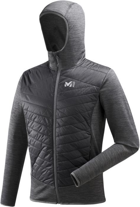 Sport - MILLET - Lentua hybrid hoodie jkt - Gris anthracite XS