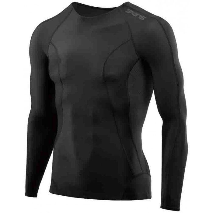 Sport - SKINS - Men#s long sleeve top - Noir L