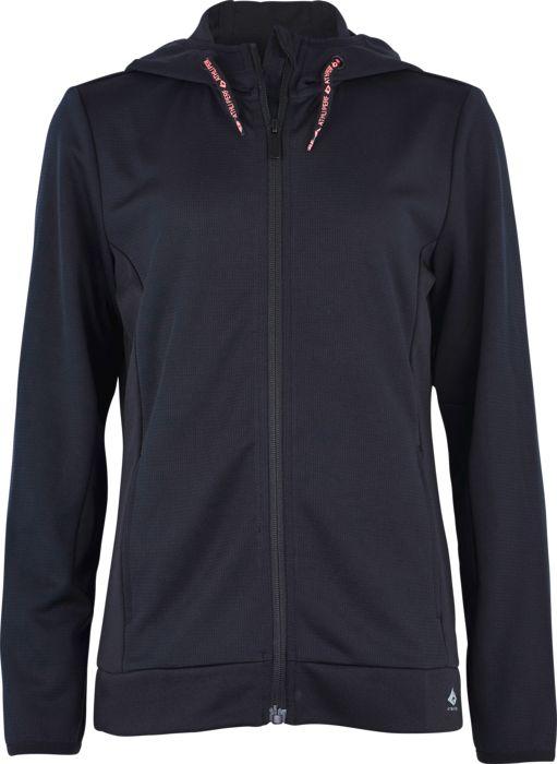 Sweat shirt - ATHLITECH - Gaby zip - Noir Fille 8ANS