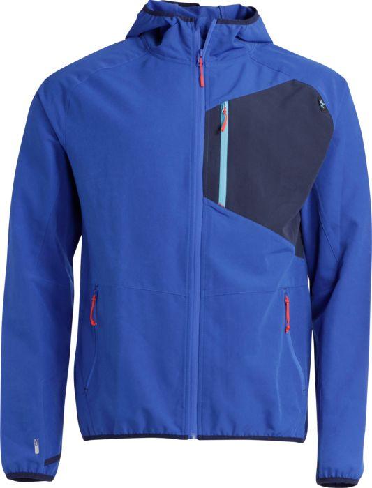 Veste technique - WANABEE - M activ light soft hood 2 - Bleu roi Homme L
