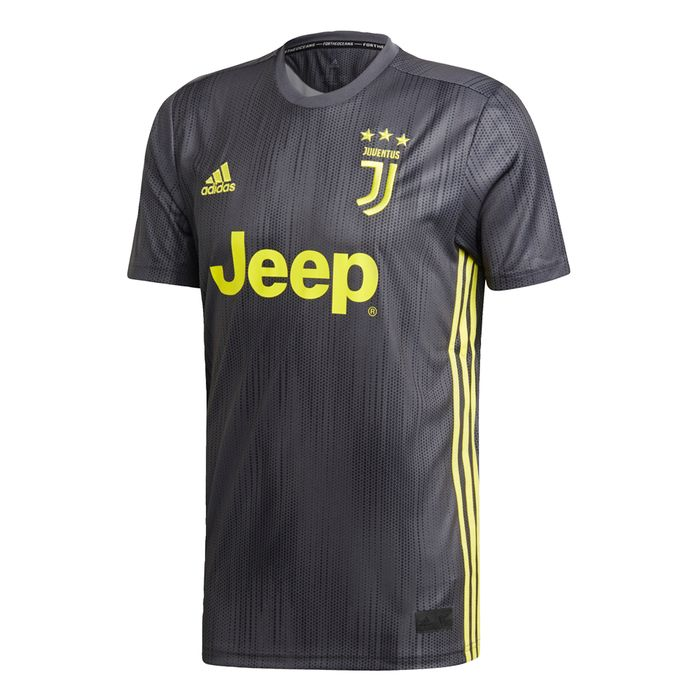 MAILLOT ENTRAINEMENT homme ADIDAS JUVE THIRD JSY - GRIS - homme - ADIDAS - MAILLOT