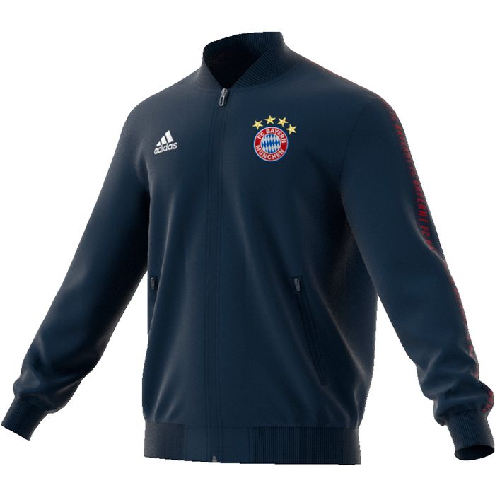 Veste - ADIDAS - Bayern anthem 2018 - Bleu Homme L