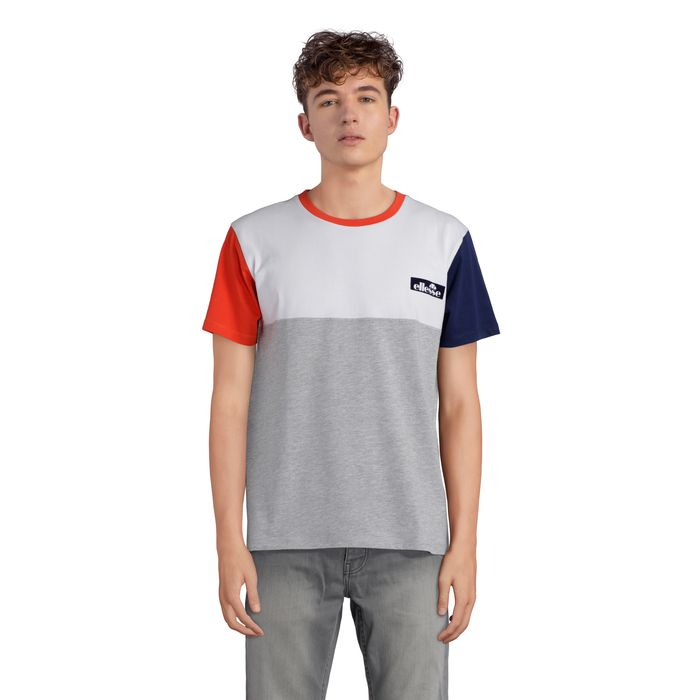 GUSTAVE TMC 1 - GRIS CHINE - homme - ELLESSE - TEE SHIRT