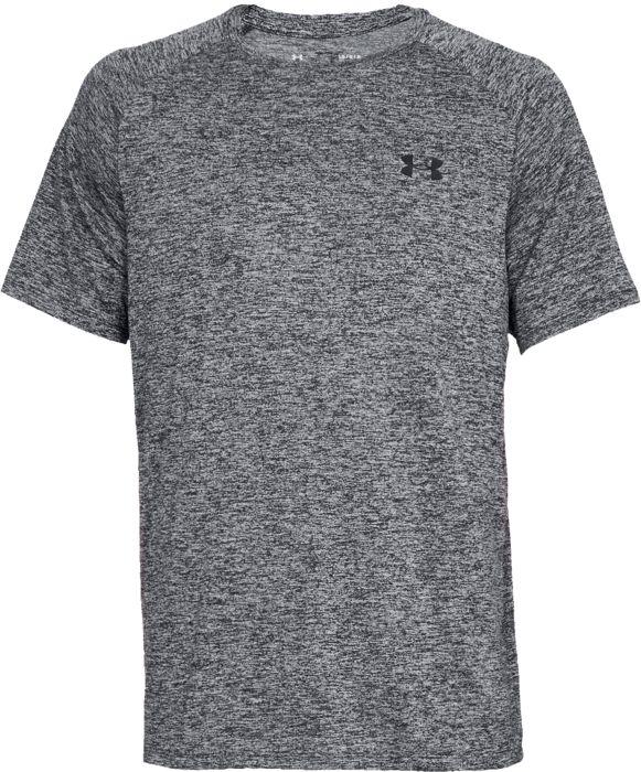Tee Shirt - UNDER ARMOUR - Tech Ss - Gris Mixte S