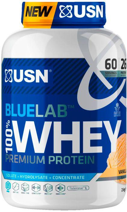 Image of Aliment - USN NUTRITION - Whey vanille 2kg - Bleu Mixte