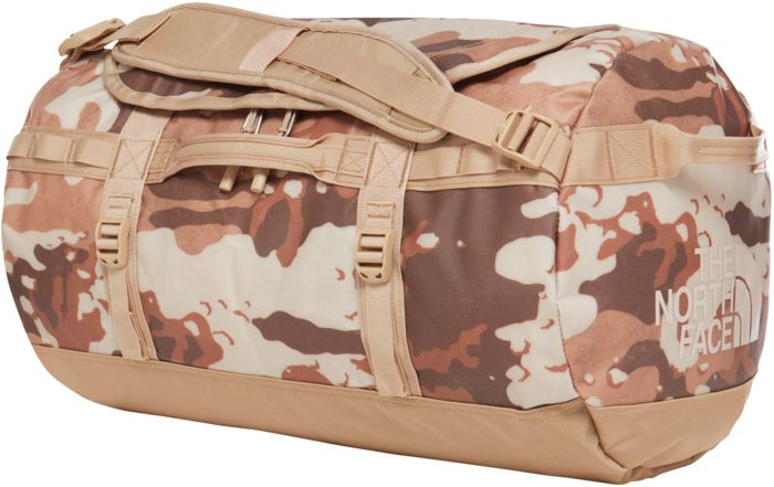 BASE CAMP DUFFEL - S CAMO - BEIGE - mixte - THE NORTH FACE - SAC
