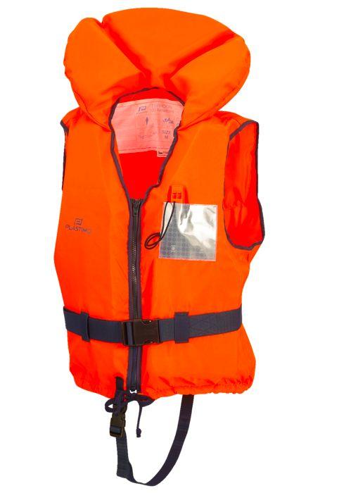 Gilet de sauvetage - PLASTIMO - Gilet typhon 100n - Orange Adulte L