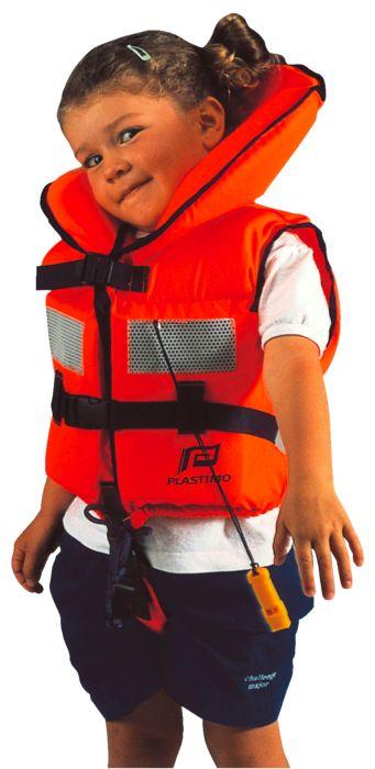 Gilet de sauvetage - PLASTIMO - Gilet baby - Orange Enfant 4-10 ans