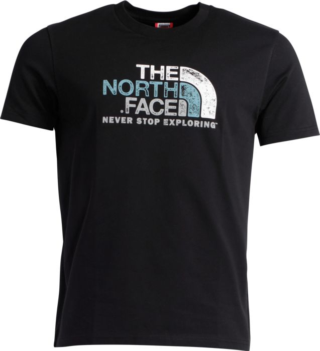 OTTINO TEE, NOIR - NOIR - homme - THE NORTH FACE - TEE SHIRT