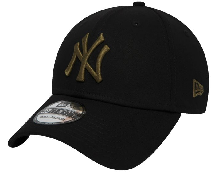 Casquette - NEW ERA - L.e. 39thirty new york yankees black/new - Mixte