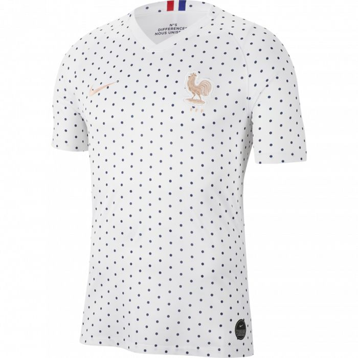 FFF 2019 - BLANC - homme - NIKE - MAILLOT EXTERIEUR