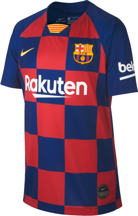 FC BARCELONE MAILLOT DOMICILE JUNIOR ROUGE/BLEU - ROUGE/BLEU - junior - NIKE - MAILLOT