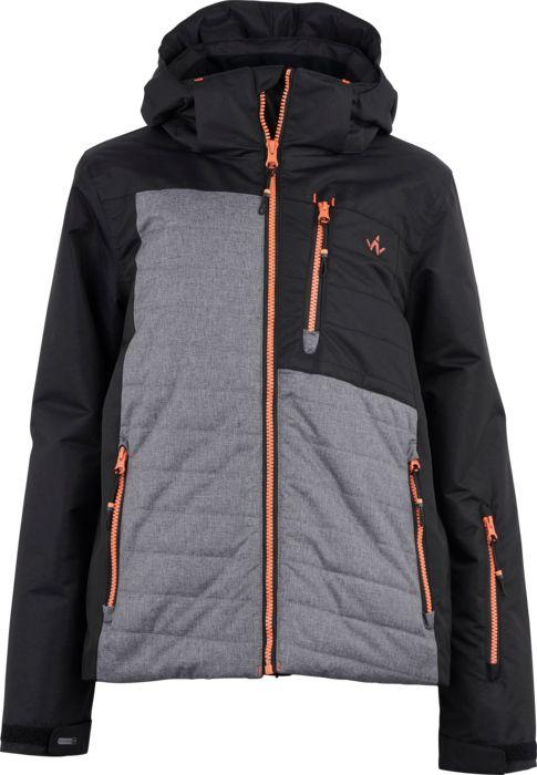 Veste de ski - WANABEE - Jr cyro 200 jkt noir - Noir Enfant 10ANS