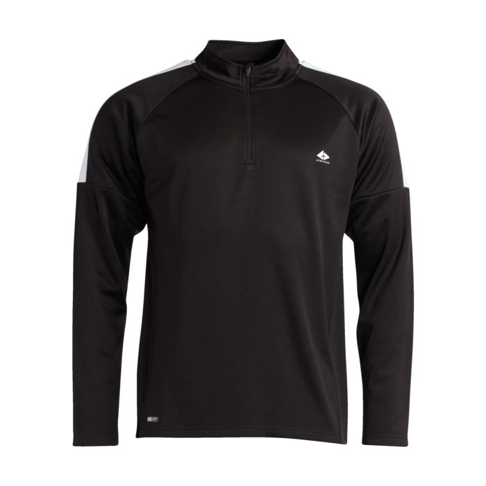 Sport - ATHLI-TECH - Foot demi zip ad - Noir XL