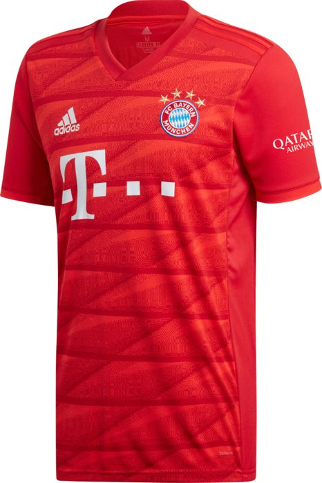 BAYERN MUNICH MAILLOT DOMICILE 2019 - ROUGE - homme - ADIDAS - MAILLOT DOMICILE