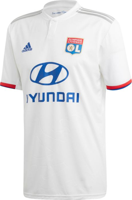 OL MAILLOT DOMICILE 2019 - BLANC - homme - ADIDAS - MAILLOT DOMICILE