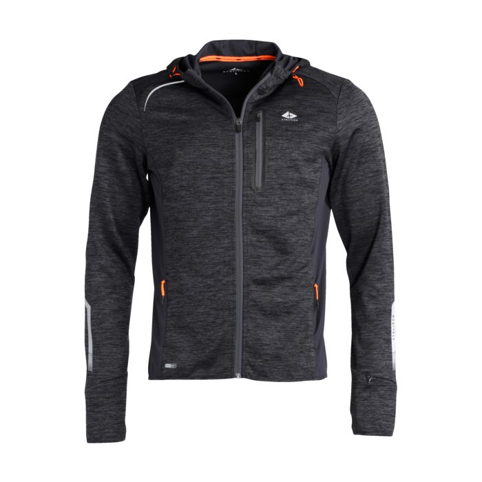 Sport - ATHLI-TECH - Gary 300 sweat zip m - Gris ardoise XXL