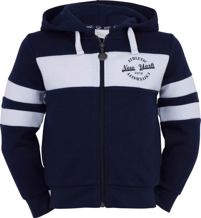 Sweat shirt - UP2GLIDE - Heliot zip - Marine Garçon 4ANS