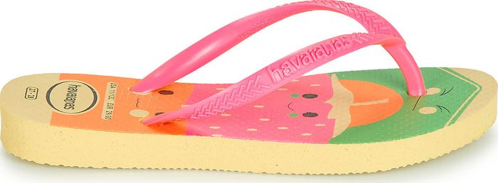 KIDS SLIM FUN - JAUNE/ROSE - HAVAIANAS