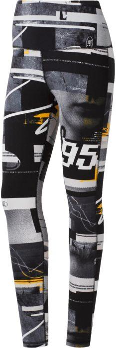 Sport - REEBOK - Wor myt aop legging - Noir/imprime L