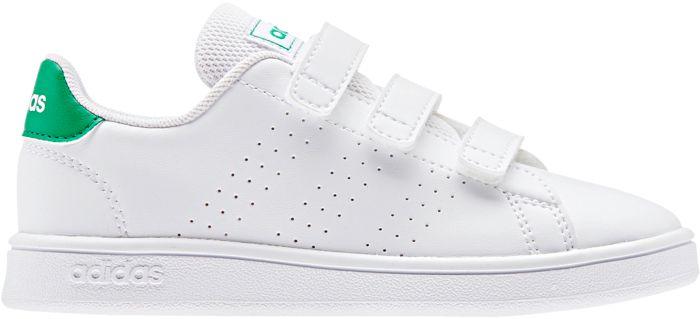 ADIDAS - Baskets - Advantage c blanc - Blanc Enfant 34
