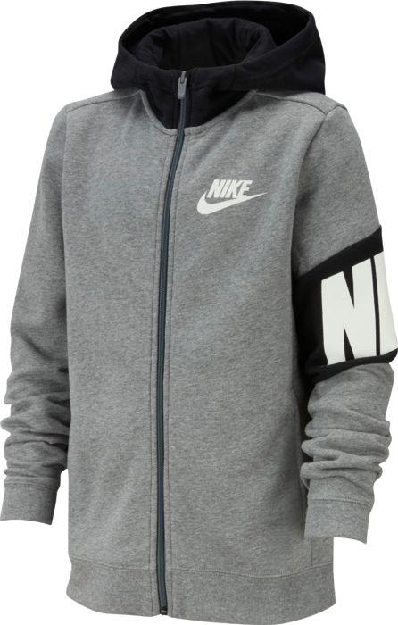 Sport - NIKE - B nsw core amplify fz hoodie - Gris 12 ANS