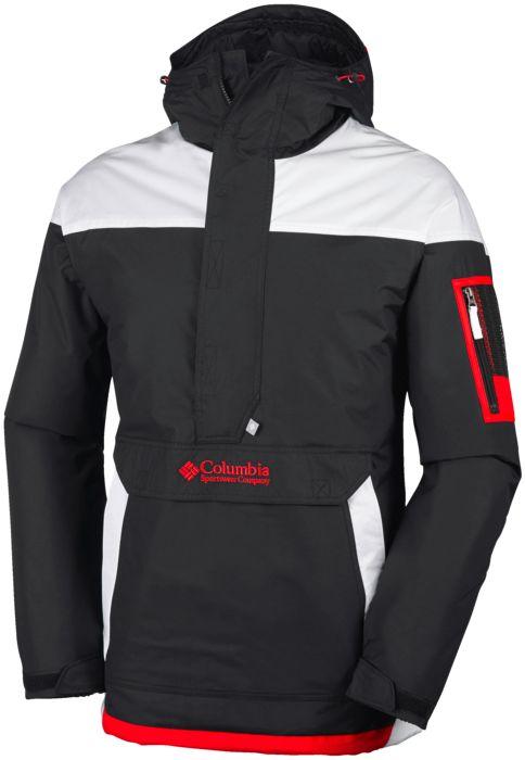 Veste technique - COLUMBIA - Challenger pullover - Noir Homme L