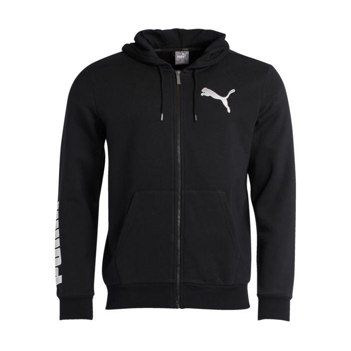 Sweat shirt - PUMA - Ka fz fl - Noir Homme S
