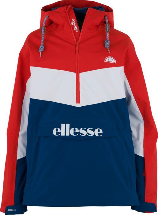 Veste de ski - ELLESSE - Jr aquila 1/2 zip jkt rouge - Rouge 10ANS