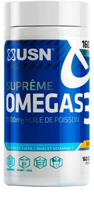 Image of Capsule - USN NUTRITION - Omegas 160 capsules - Mixte