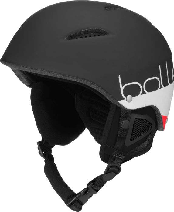 Image of Casque - BOLLE - B-style matte black white - Indetermine 54/58 CM