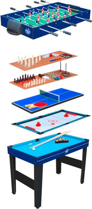 Sport - SPORT AND FUN - Table de jeux 14 en 1