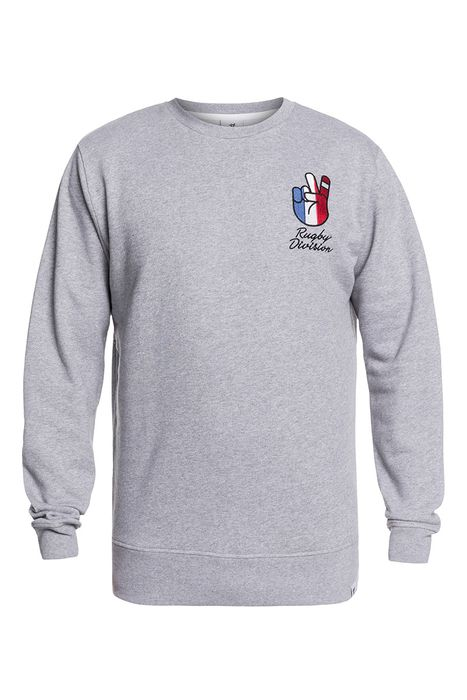 Image of Sweat shirt - RUGBY DIVISION - Toujours - Gris Adulte L