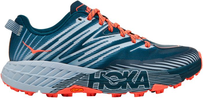 Chaussures basses - HOKA ONE ONE - Speedgoat 4 - Gris fonce/gris Femme 36