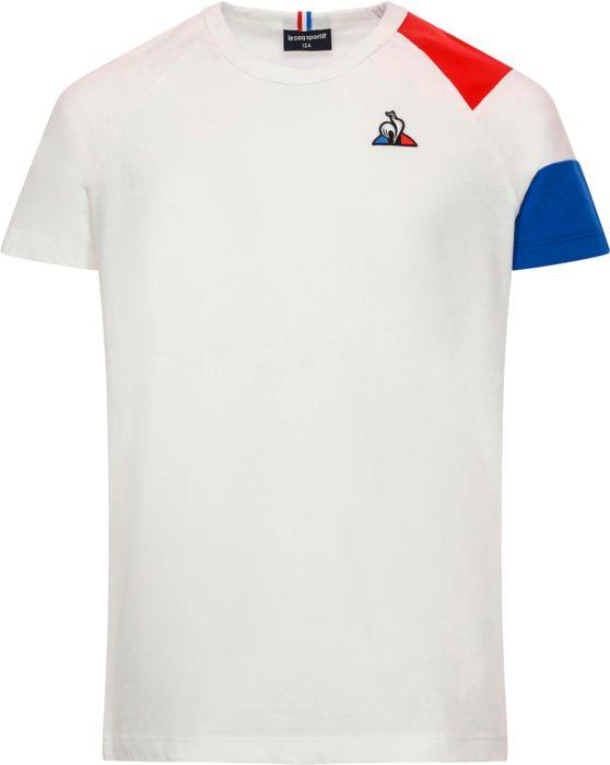 Tee Shirt Mc - LE COQ SPORTIF - Bat Ss N°2 - Blanc Enfant 10ANS